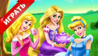 Принцессы Диснея на пикнике