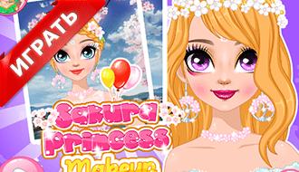 Сакура-макияж принцессы