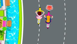 Соревнования на велосипеде