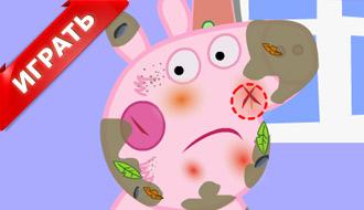 Уход за свинкой Пеппой