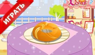 Украшение пончиков