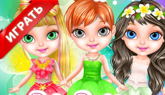 Волшебный салон красоты Барби