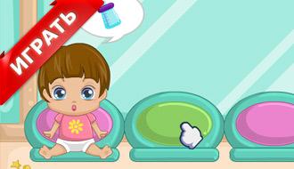 Детская игра – уход за ребенком