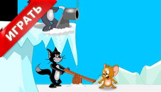 Том и Джерри зимой