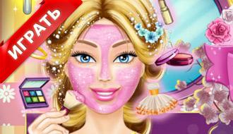 Реальный макияж Барби