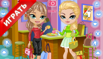 Одевалка двух девушек