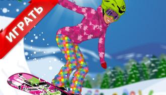 Игры одевалки на лыжах