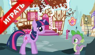 Игра Дружба это Чудо: одевалка стиля пони