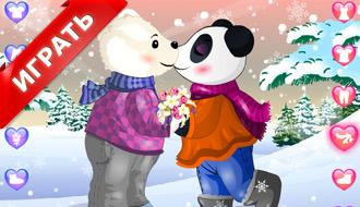 Поцелуи медведей