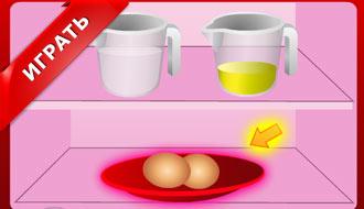 Радужные кексы